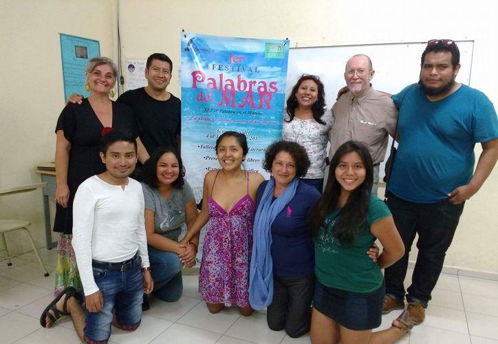 La lista de los eventos a realizar en el Primer Festival Palabras del Mar se puede consultar a través de la página de Facebook 'Sala de Lectura La Ojarasca'. (Adrián Barreto/SIPSE)