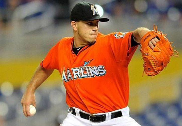 José Fernández es uno más de los beisbolistas de Grandes Ligas que han evitado irse a proceso de arbitraje salarial. En su caso, pactó un contrato con Marlins de Florida. (rantsports.com)