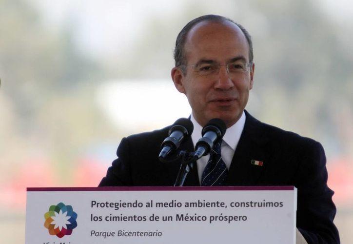 Calderón estará durante un año en la Universidad de Harvard. (Archivo/Notimex)