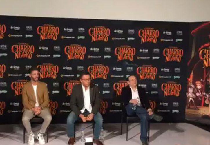El filme fue presentado durante una conferencia de prensa. (Jocelyn Díaz/SIPSE)