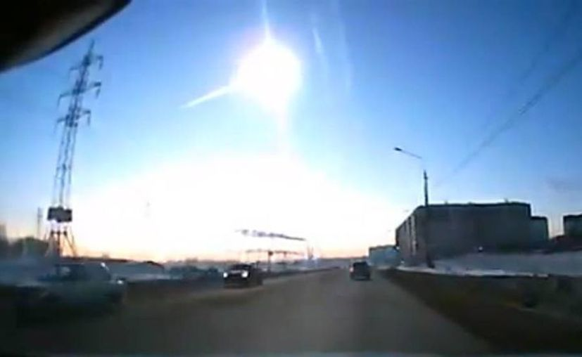 Un aficionado captó en video la caída del meteorito. (Foto: Youtube)