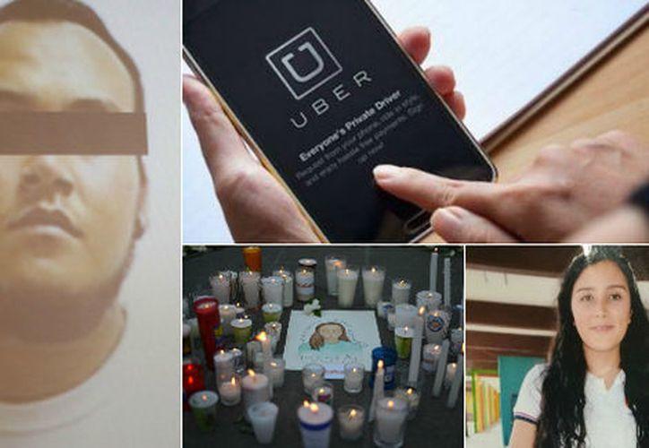 El conductor conductor de la plataforma, Ricardo Alexis Díaz, fue implicado en el feminicidio de Mara Fernanda Castilla Miranda.