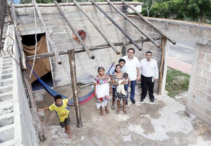 Autoridades estatales acercan programas de apoyo a zonas marginadas de Yucatán. (Milenio Novedades)