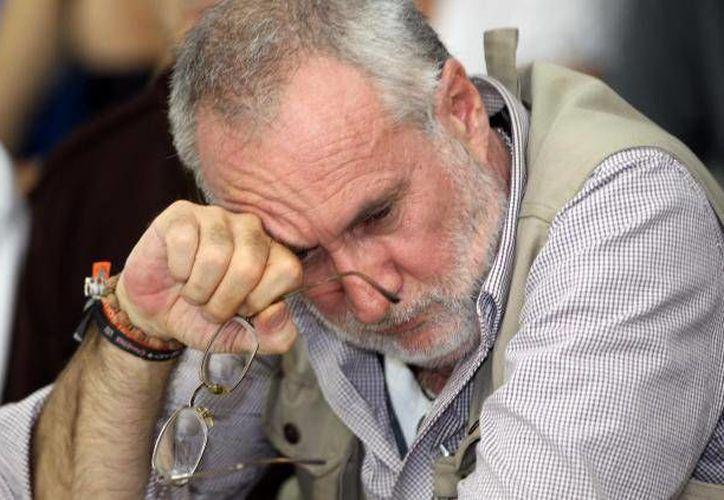 Javier Sicilia indica que las autoridades no han hecho investigaciones a profundidad sobre el homicidio de su hijo Juan Francisco. (Archivo/SIPSE)