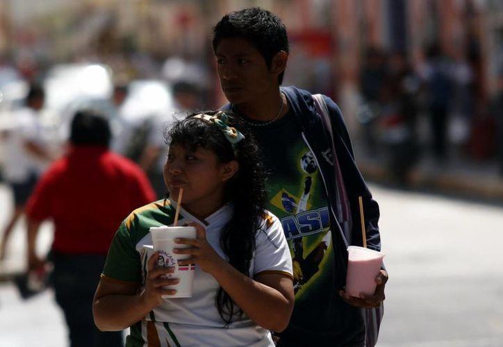 Pese al pronóstico de lluvias continuarán las altas temperaturas en la capital yucateca. (Christian Ayala/SIPSE)