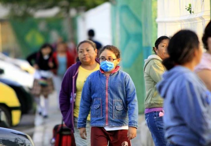 La temporada de influenza estacional inició en octubre del año pasado y concluirá entre marzo y abril de este año.  (SIPSE)