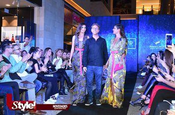 Desfile de modas organizado por Carmen Steffens y Pineda Covalin