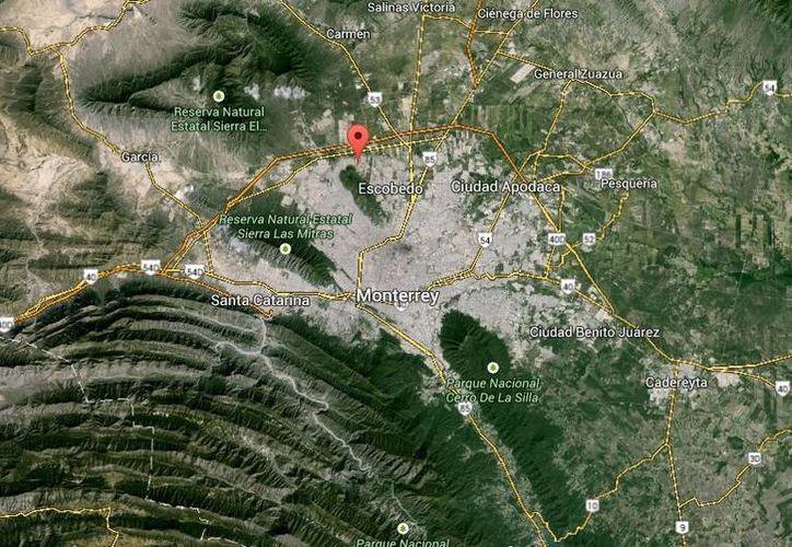 Juan Fernando Alvarez Cortés, El Ferrari, fue detenido en la colonia Privadas de Anáhuac, en el municipio de Escobedo. (Google Maps)