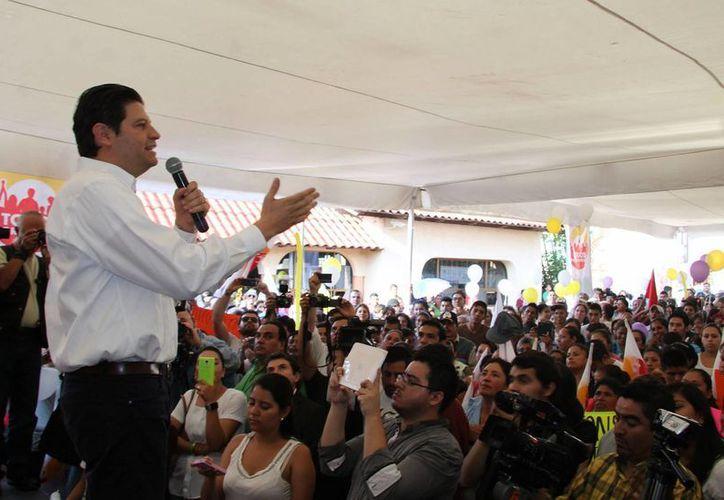 Hasta el momento, el candidato independiente  Alfonso Martínez Alcázar se posiciona en primer lugar para ser alcalde de Morelia, con 63 mil 400 mil votos. (Archivo/Notimex)