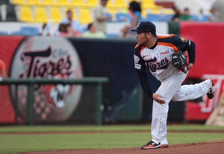 El lanzador José Miguel Ramírez verá acción en la serie contra Veracruz. (Redacción/SIPSE)