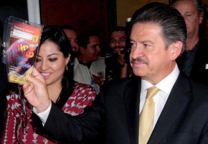 Carlos Navarrete, líder del PRD aseguró que el partido debe presentar una propuesta propia. (Notimex)