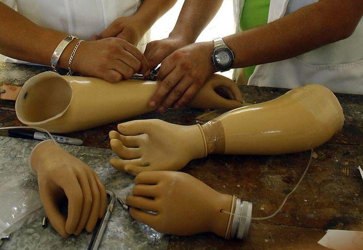Unas de las funciones del nuevo Laboratorio  de Fabricación Digital, instalado en Yucatán, es la creación de prótesis. (SIPSE)