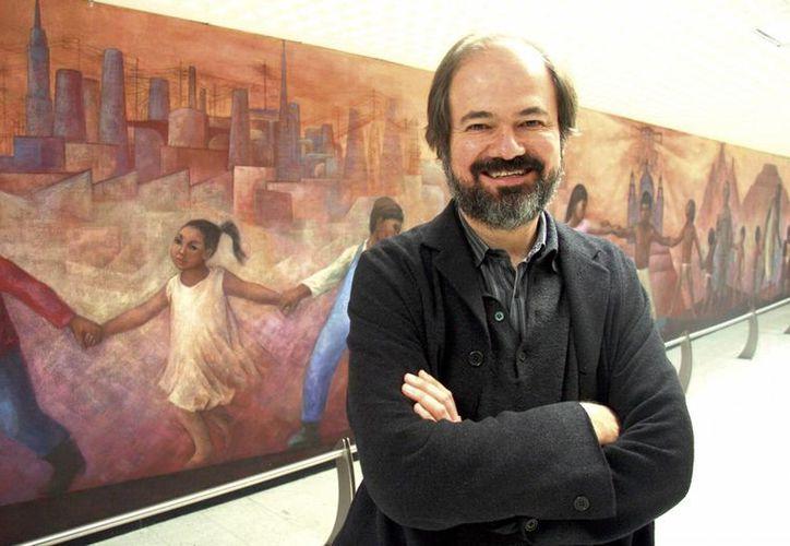 Juan Villoro leerá crónicas de su libro 'Tiempo transcurrido'. (Milenio Novedades)