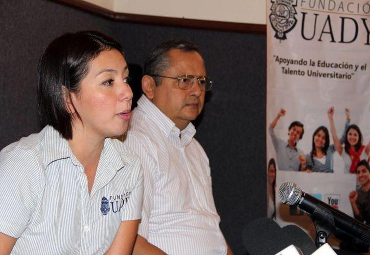 La presidenta de la Fundación Uady, Vanesa Castro Gutiérrez. (Milenio Novedades)