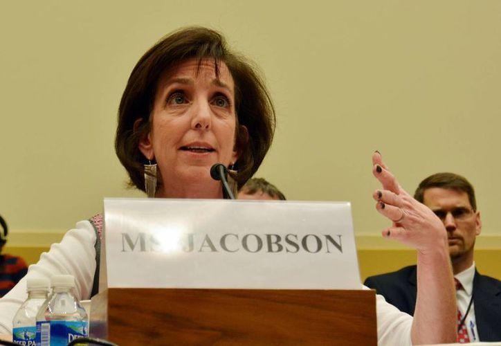 La designación de Roberta Jacobson como embajadora de EU en México sigue detenida en aparente represalia por su participación en la normalización de las relaciones entre Washington y La Habana. (Archivo/Notimex)