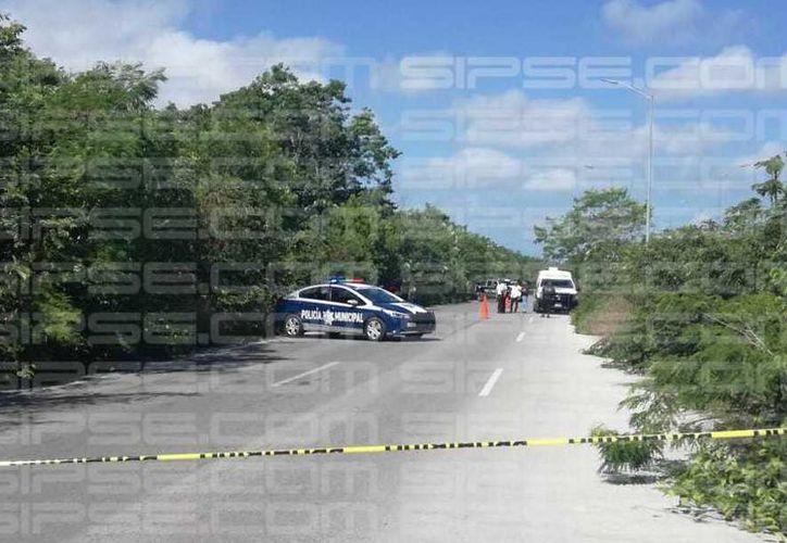 El cuerpo sin vida fue hallado en un área verde. (Redacción/SIPSE)