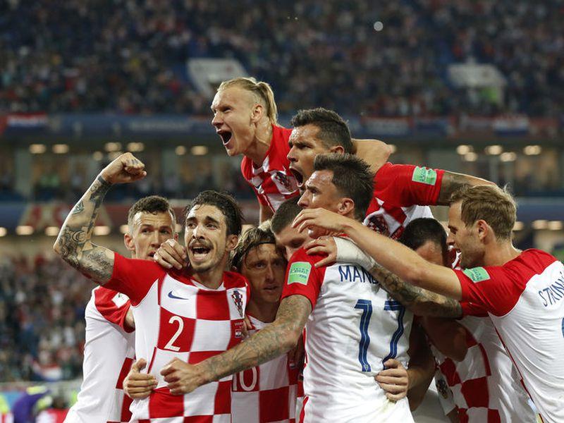Croacia es ligero favorito sobre Dinamarca en octavos de final (Foto AP)
