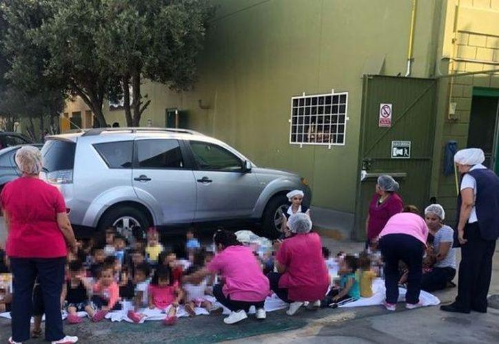 Los pequeños están fuera de peligro gracias a la rápida acción de los bomberos y el personal de la estancia. (Internet)