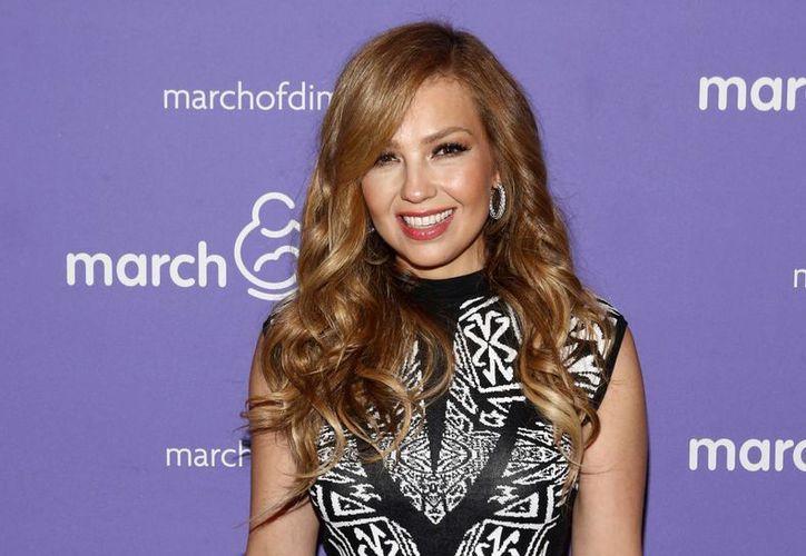 Thalía: con March of Dimes me involucré justo al enterarme del embarazo de Sabrina. (Foto: AP)