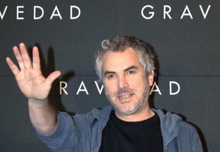 Foto de la conferencia de prensa sobre la presentación de <i>Gravedad</i> en del DF, filme dirigido por el cineasta mexicano Alfonso Cuarón. (Notimex)