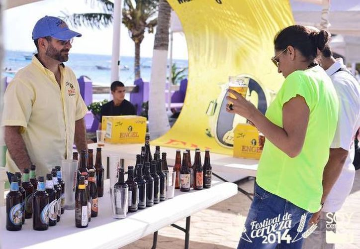 """Desde hace dos años, en Puerto Morelos se lleva a cabo el festival """"Soy Cerveza. (Redacción/SIPSE)"""