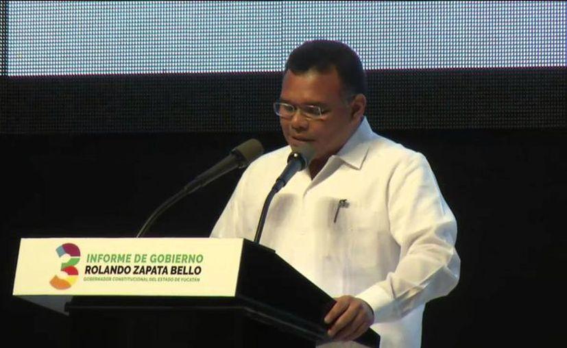 El gobernador Rolando Zapata estará en el inicio de los trabajos de construcción de las nuevas instalaciones del banco de alimentos de Mérida A.C (SIPSE)