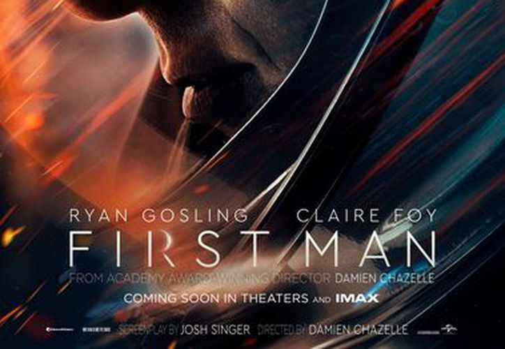 "Primer póster oficial. (Foto: Facebook ""First Man"")"