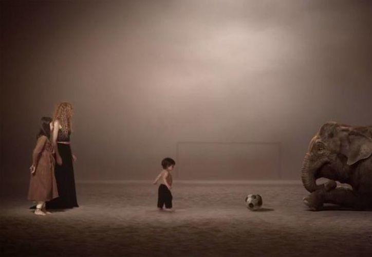 Shakira, Piqué y Milan aparecen en video del Mundial (Captura de Pantalla)
