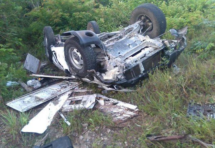 El reporte del accidente llegó minutos antes de las siete de la mañana. (Redacción/ SIPSE)