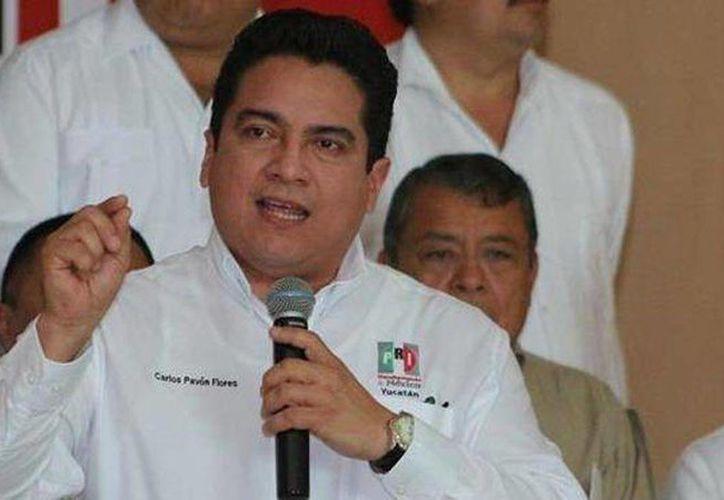 Carlos Pavón Flores, presidente del PRI en Yucatán, anunció una serie de cambios en ese instituto político. (Sipse/archivo)