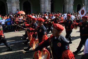 Así se vivió el desfile del día de la Independencia en Mérida