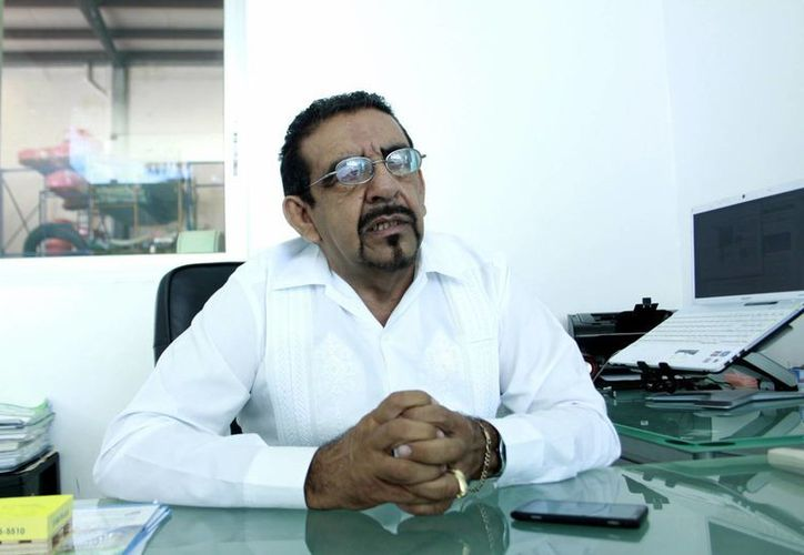 Leopoldo Pandiello Vázquez, presidente de Acomee. (Milenio Novedades)