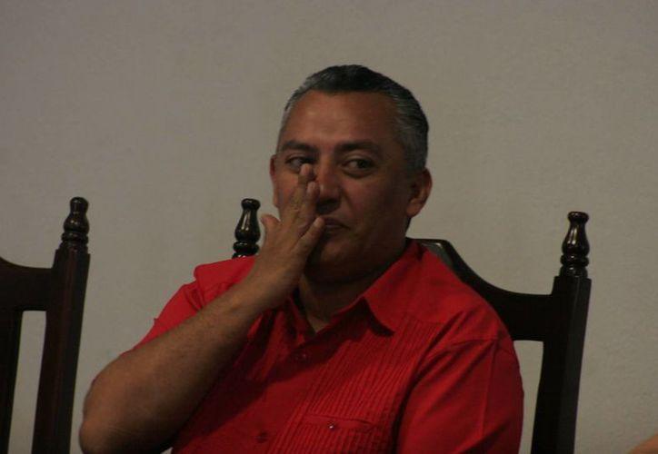 El edil capitalino, Carlos Mario Villanueva Tenorio. (Archivo/SIPSE)