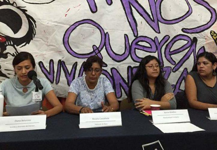 Elsa Arista, otra integrante del colectivo dijo que el caso de Valeria fue la gota que derramó el vaso. (MVS Noticias)
