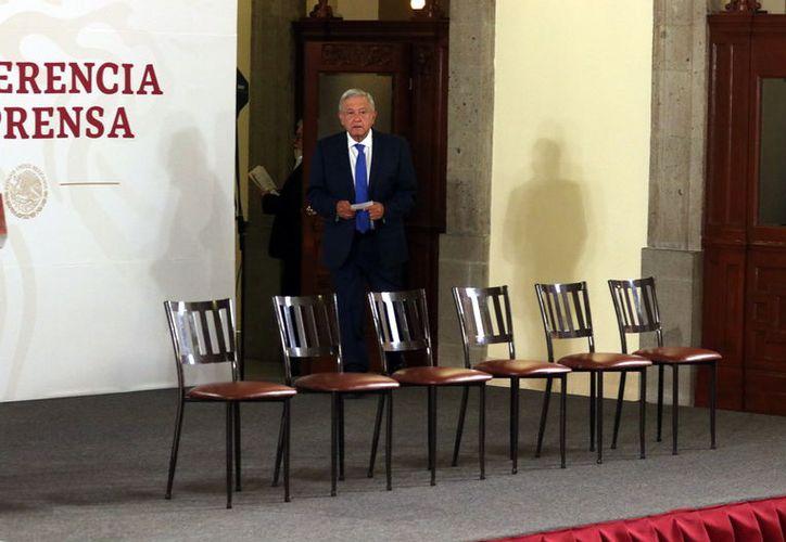 El miércoles 27 de marzo, Grupo REFORMA publicó el borrador de la carta que el Presidente Andrés Manuel López Obrador mandó al Rey de España, en la que demandó a la Corona Española una disculpa por la violencia contra los pueblos originarios. (Foto: Reforma/ Alejandro Mendoza)