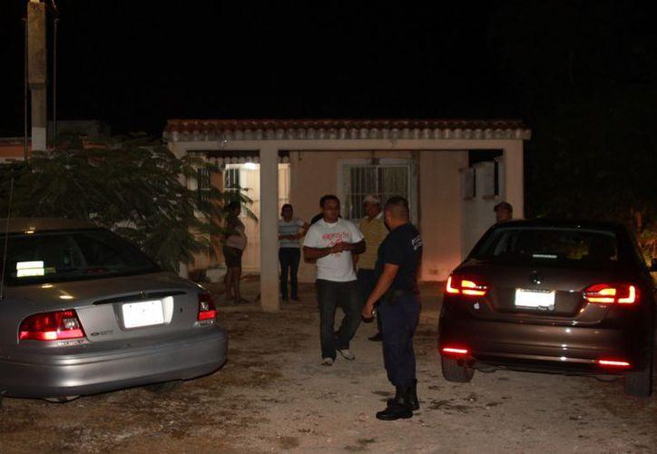 El afectado les dijo a los policías que iba a interponer su denuncia en el Ministerio Público. (Manuel Salazar/SIPSE)