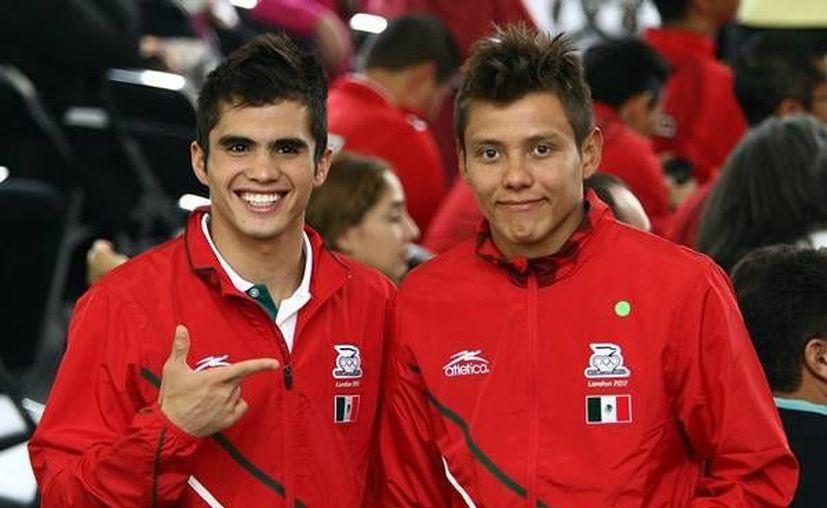 Germán Sánchez e Iván García solo fueron superados por la dupla rusa y la cubana. (www.mediotiempo.com/Archivo)