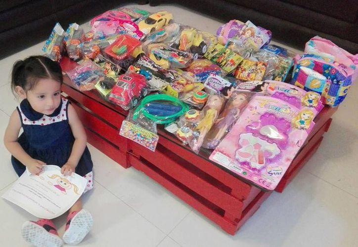 Recolectan juguetes en Cancún para niños de escasos recursos. (Redacción/SIPSE)