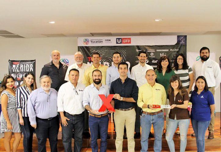 Parte de los conferencistas que se presentarán en el evento. (Novedades Yucatán)