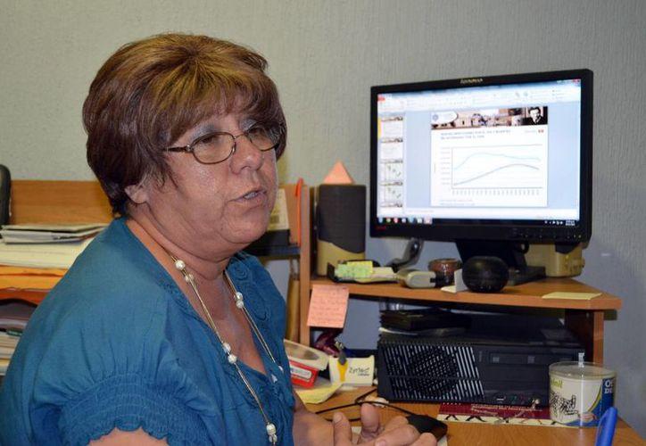 La investigadora del Dr. Hideyo Noguchi, Ligia Vera Gamboa, es especialista en temas de VIH/Sida. (Milenio Novedades)