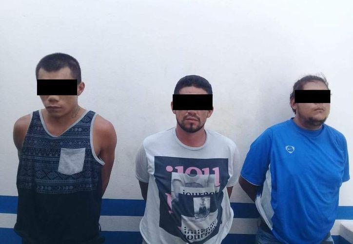 Los detenidos quedaron a disposición de las autoridades correspondientes. (Redacción/SIPSE)