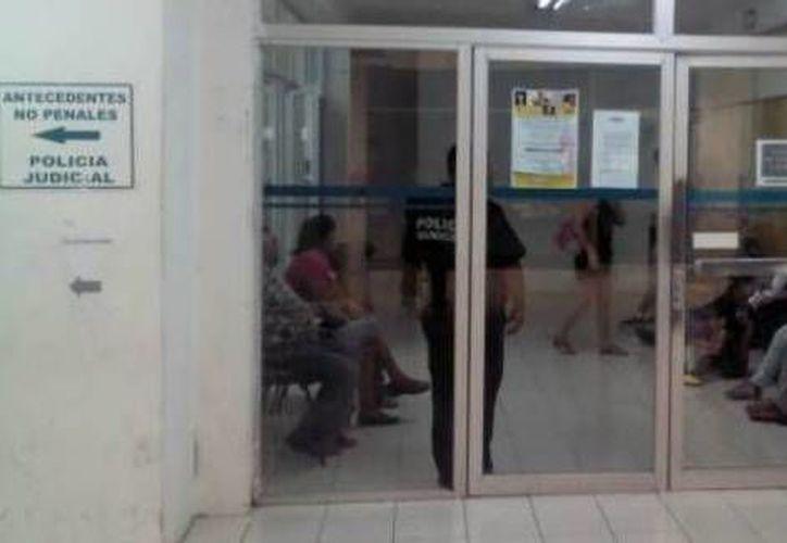 El detenido fue turnado a las autoridades ministeriales. (Archivo/SIPSE)