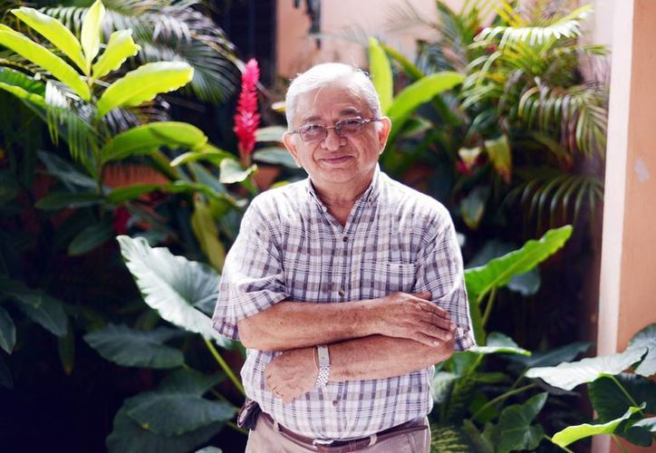 La familia, el altruismo y la ciencia, los pilares de la vida del biólogo yucateco Manuel Solís Ramírez. (Milenio Novedades)