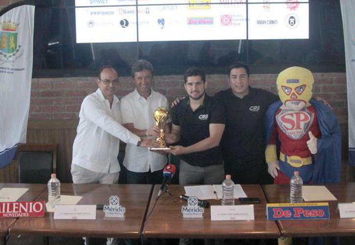 El torneo se realiza por primera vez en Mérida, pero se tiene la intención de llevarlo a Monterrey, Puebla y Querétaro. (Foto: Milenio novedades)
