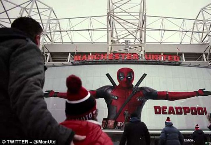 Dentro del estadio todo luce con el logotipo de Deadpool y Ryan Reynolds, actor que personifica al superhéroe. (Vanguardia MX)