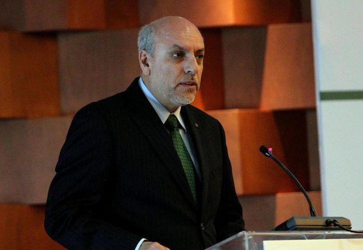 El director general del Conacyt, Enrique Cabrero Mendoza. (Notimex)