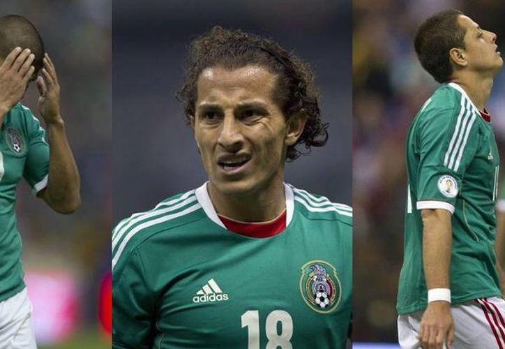 Al término del partido, la selección se llevó una rechifla en el Azteca. (Foto: Agencias)