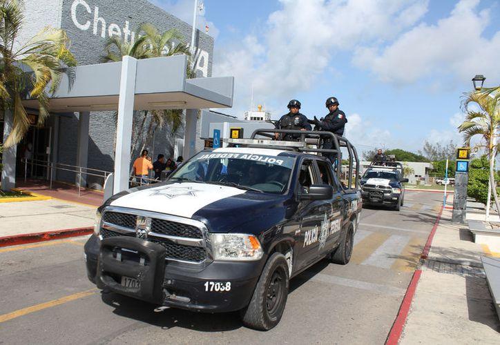 La dependencia federal seguirá trabajando con menos de mil policías para cubrir la seguridad de todo el estado. (Foto: Joel Zamora/SIPSE)