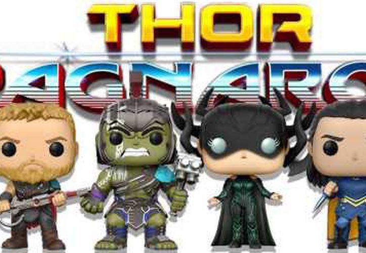 Las figuras aparecen con las vestimentas específicas de la nueva entrega de Marvel. (SensaCine)