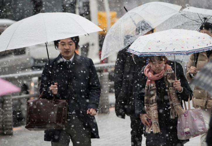 Japón registra sus nevadas más fuertes en cuatro años. (Reuters)